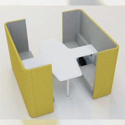 Enjoy Cross Discussion Work Pod