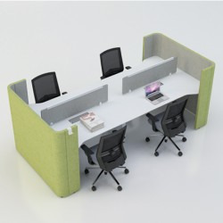 Enjoy Open-Seat Workstation Work Pod